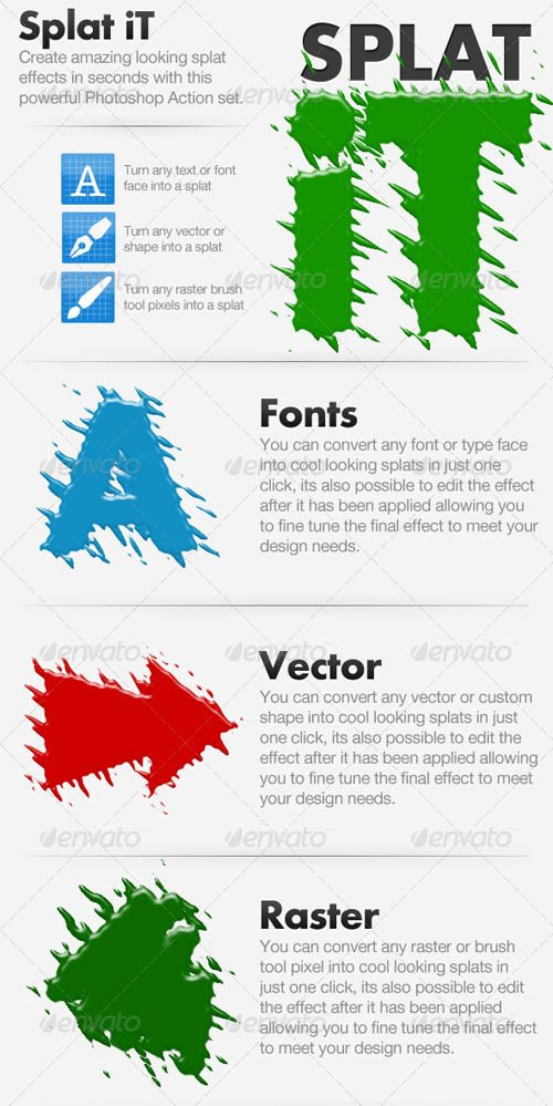 GraphicRiver Splat iT - Give Your Work The Splat Effect!