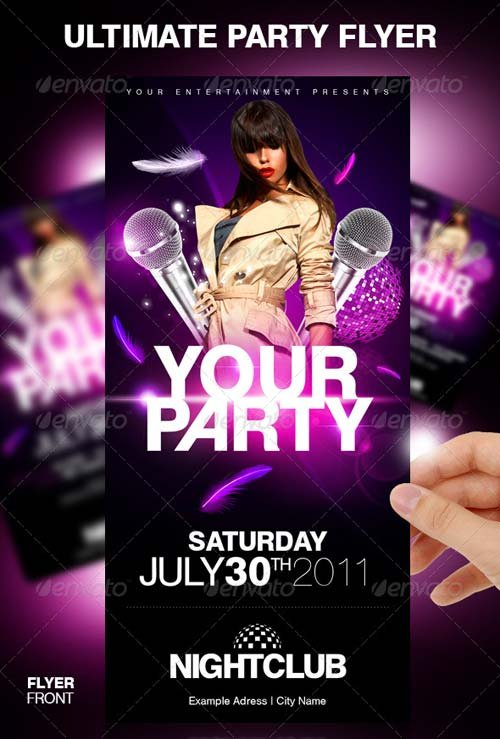 GraphicRiver Ultimate Party Flyer
