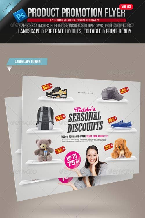 GraphicRiver Product Promotion Flyer Vol. 03
