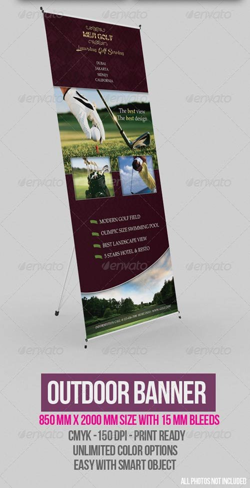 GraphicRiver Outdoor Banner Vol. 4