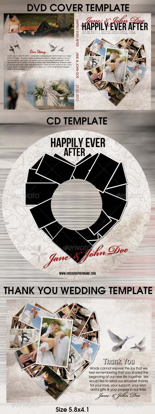 GraphicRiver Happily Ever After Wedding Template