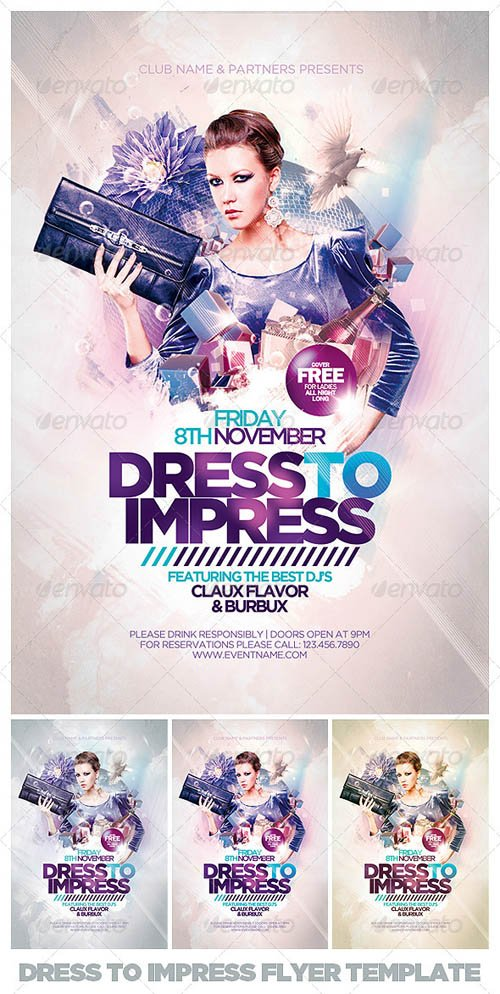 GraphicRiver Dress To Impress Flyer Template
