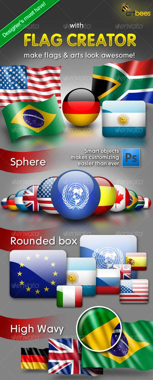 GraphicRiver Flag Creator