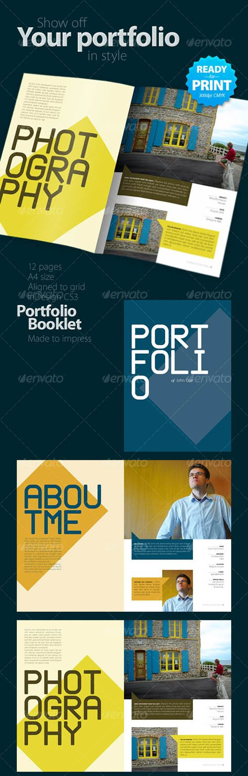 GraphicRiver Portfolio Booklet (12 pages)