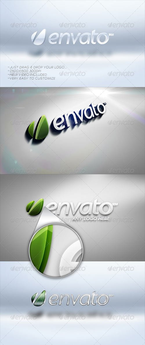 GraphicRiver 3D Logo Bundle