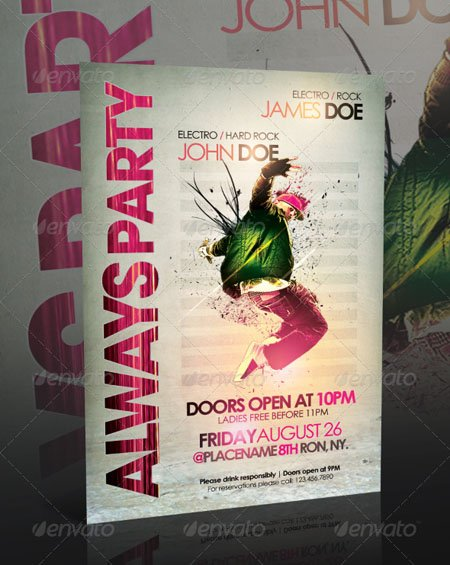 GraphicRiver Always Party Flyer Template
