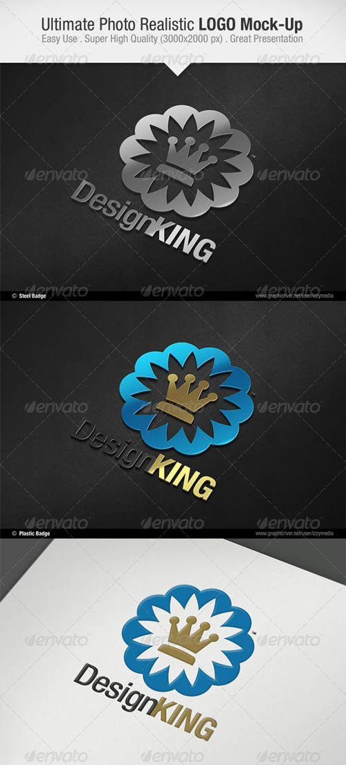 GraphicRiver Ultimate Photo Realistic LOGO Mock-Up