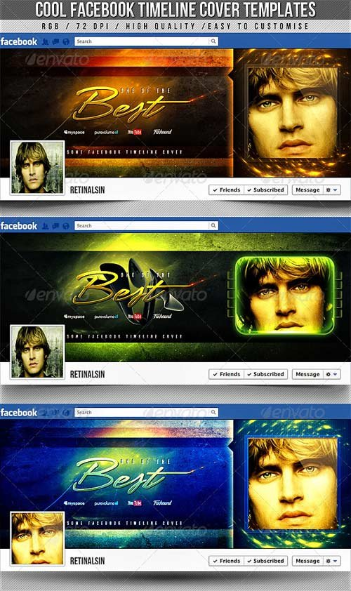 GraphicRiver Cool Facebook Timeline Covers