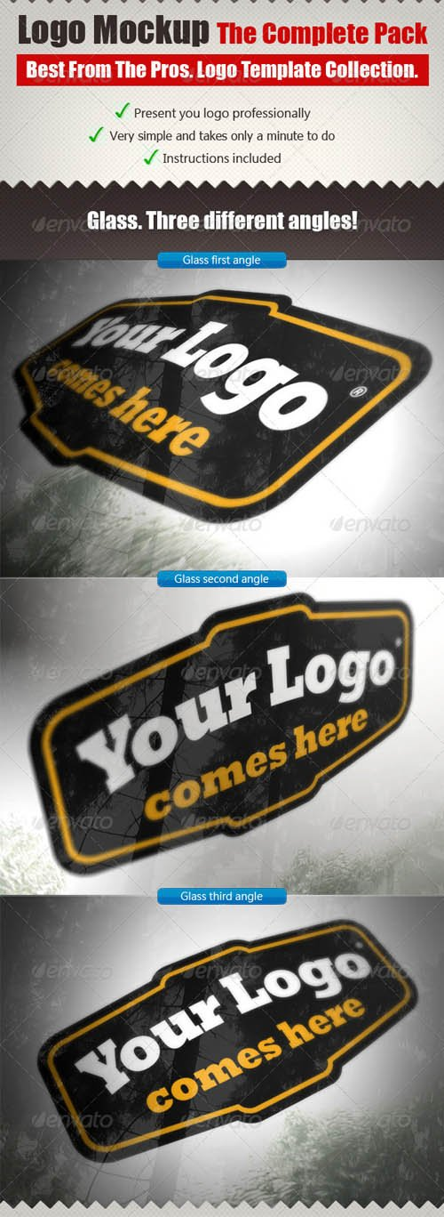 GraphicRiver The Complete Logo Mock Ups Pack