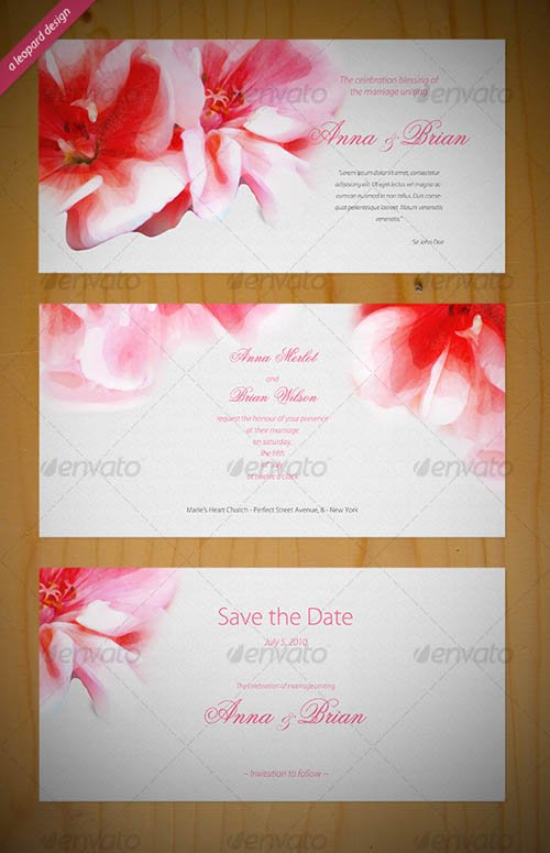 GraphicRiver Beautiful Wedding Invitation