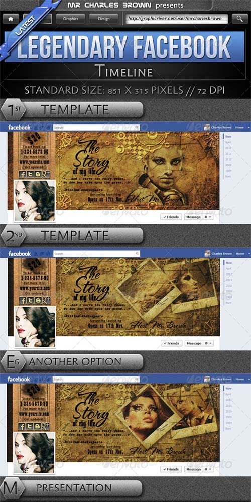 GraphicRiver Legendary Facebook Timeline