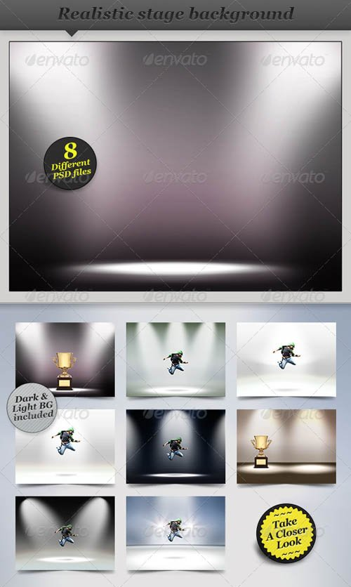 GraphicRiver Spotlight Background - Product Showcase Display