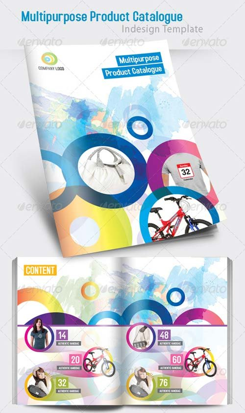 GraphicRiver Multipurpose Product Catalogue Indesign Template