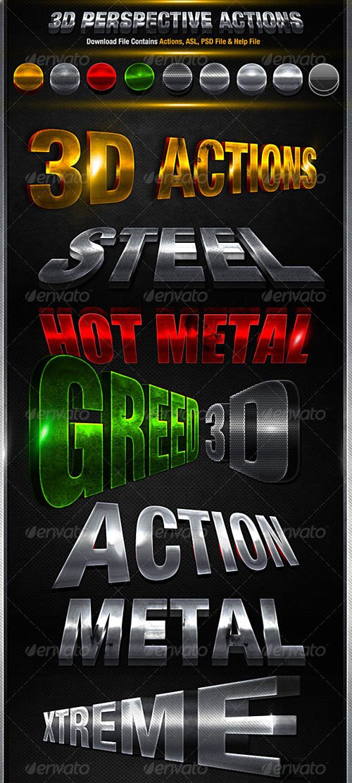 GraphicRiver 3D Action Pack