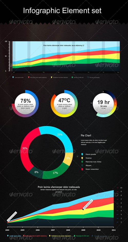 GraphicRiver Infographic Element set