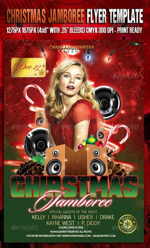 GraphicRiver The Christmas Jamboree Template