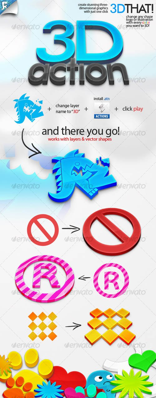 GraphicRiver 3D That! - Get into three dimensions