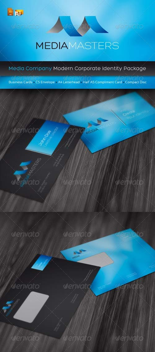 GraphicRiver RW Media Company Identity Pack