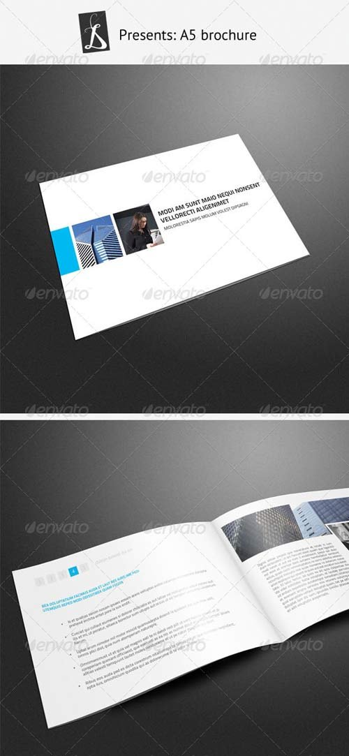 a5 brochure template - brochure templates graphicriver a5 brochure 3 graphicflux