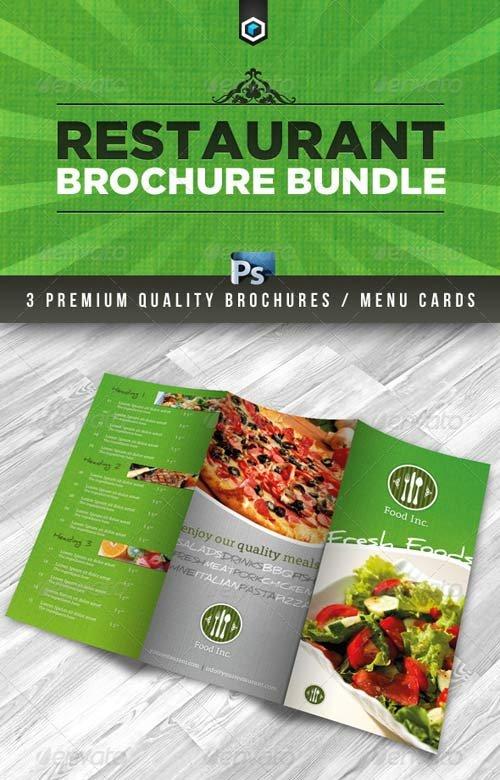 Brochure templates graphicriver rw premium restaurant