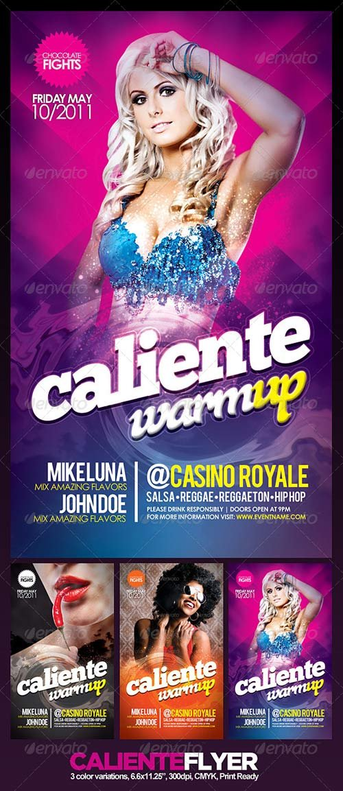 GraphicRiver Caliente Flyer