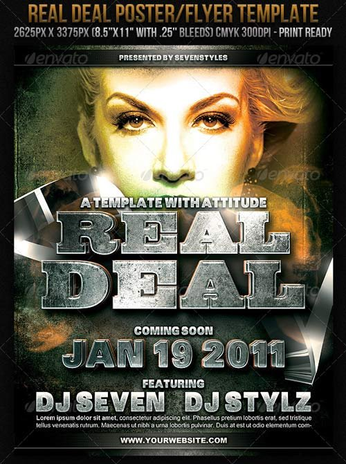 GraphicRiver RealDeal Poster/Flyer Template