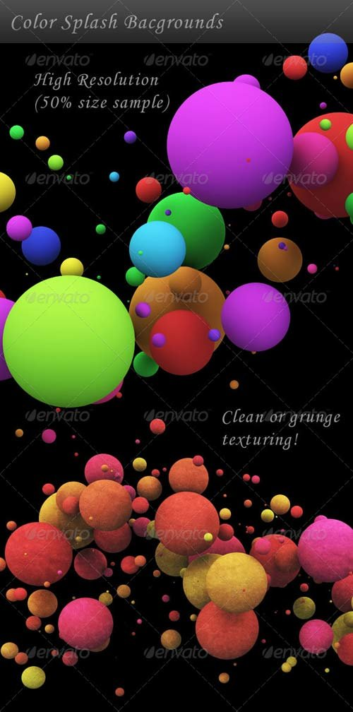 GraphicRiver Color Splash Background