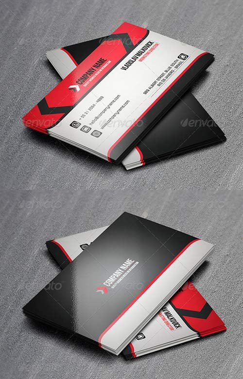 GraphicRiver Corporate Business Card 14