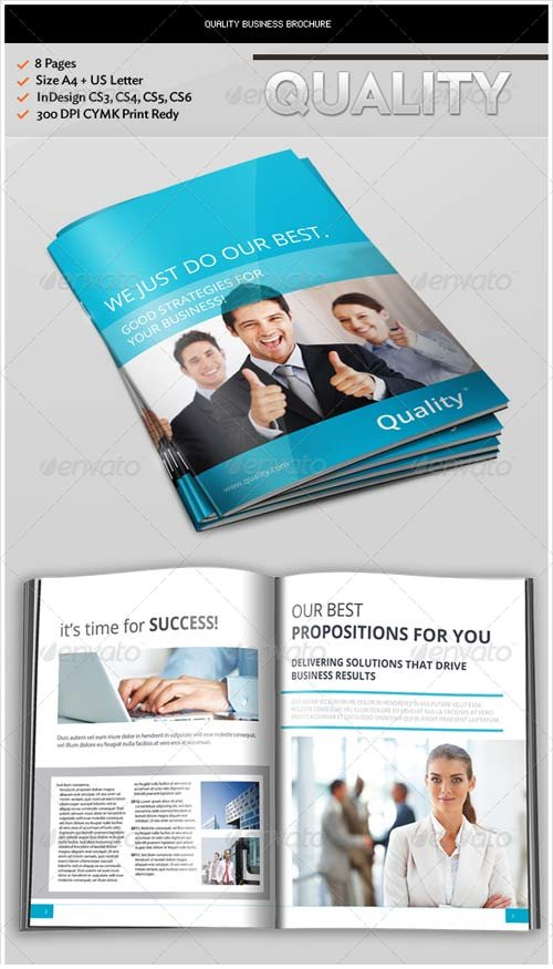 GraphicRiver Quality Business Brochure