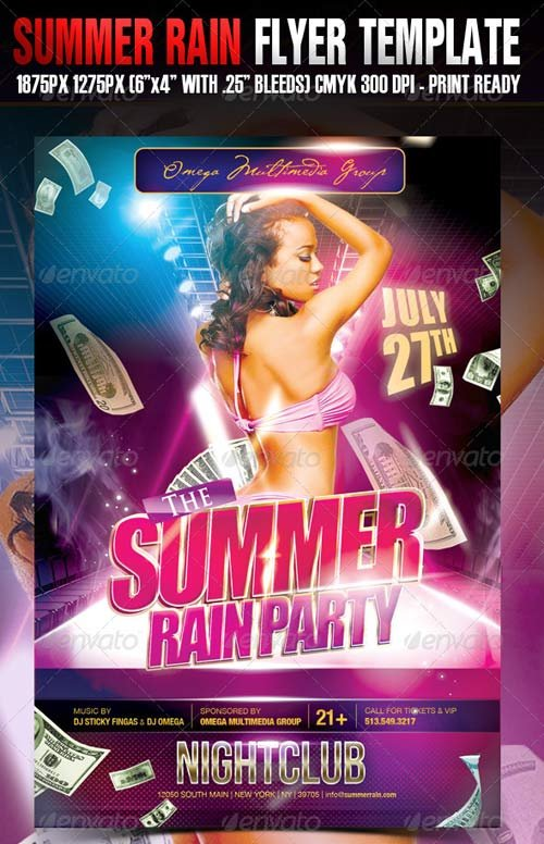 GraphicRiver Summer Rain