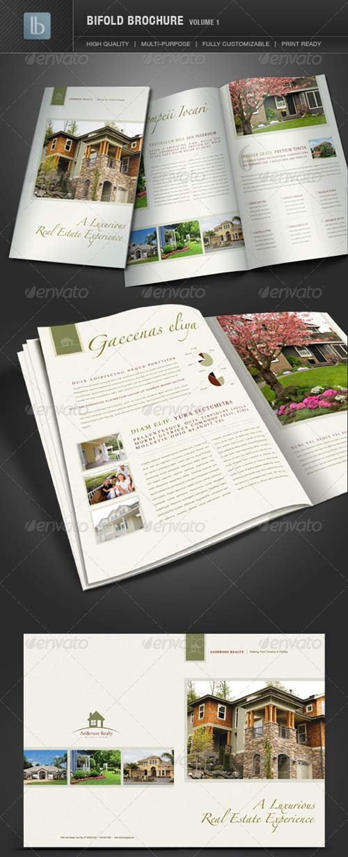 GraphicRiver Bifold Brochure | Volume 1