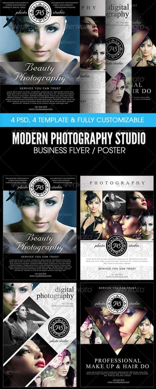 GraphicRiver Modern Photography Studio Flyer/Poster