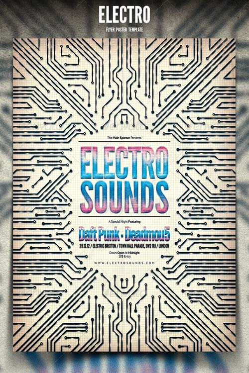 GraphicRiver Electro Flyer / Poster