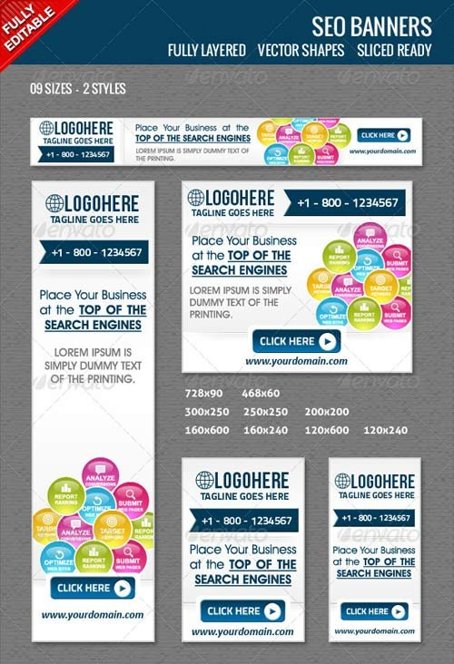 GraphicRiver Seo Banners