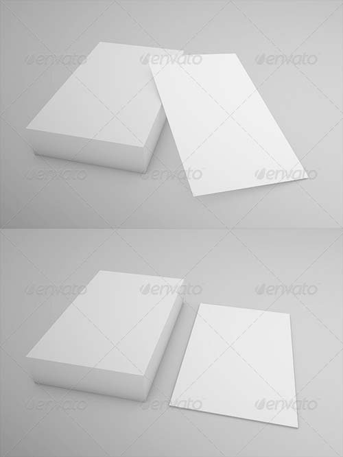GraphicRiver Business Card Mock-up 8603606