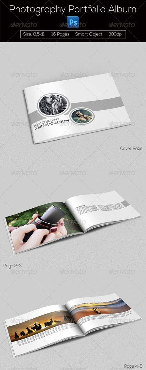 GraphicRiver Photography Portfolio Album