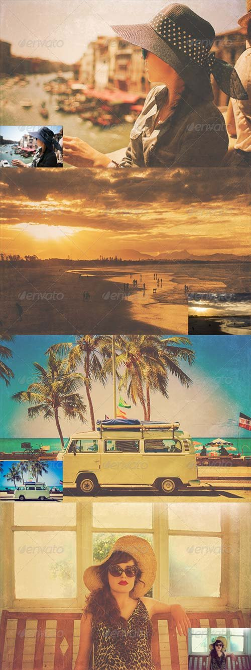 GraphicRiver Hot Faded Summer Vol. 1
