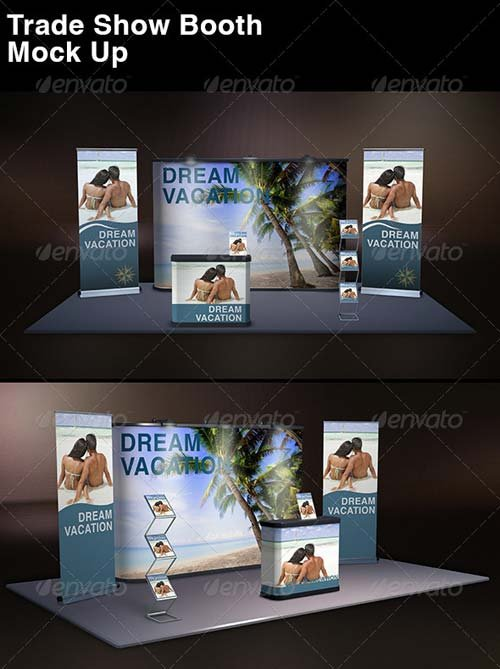 GraphicRiver Trade Show Display Mock Up