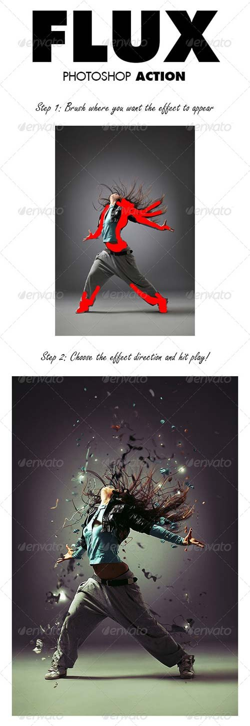 GraphicRiver Flux Photoshop Action