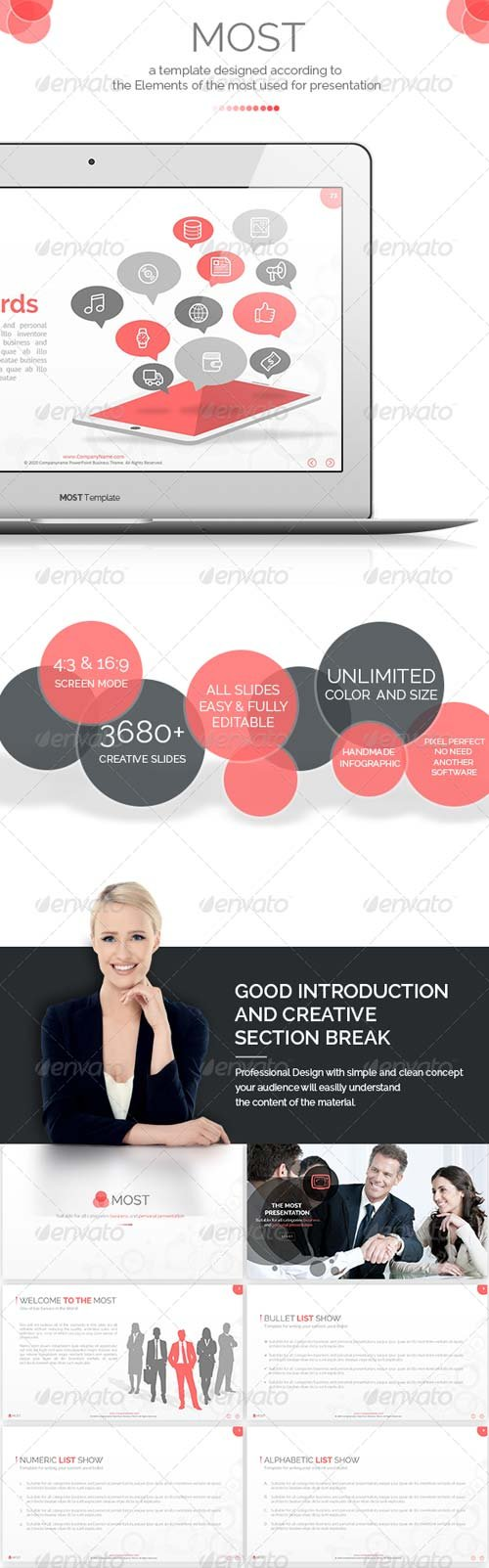 GraphicRiver Most - The Most PowerPoint Template