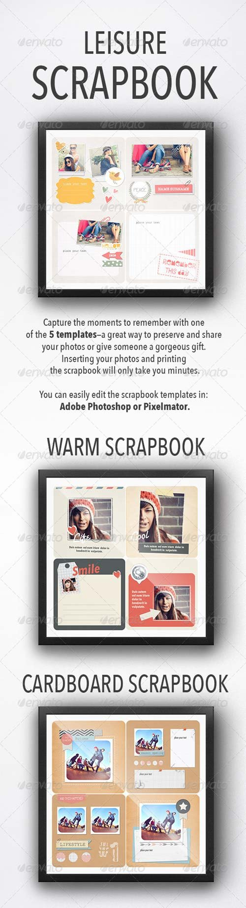 GraphicRiver Leisure Scrapbooks