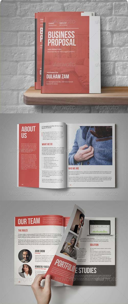 GraphicRiver Sari Business Proposal