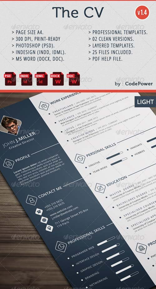 GraphicRiver The CV