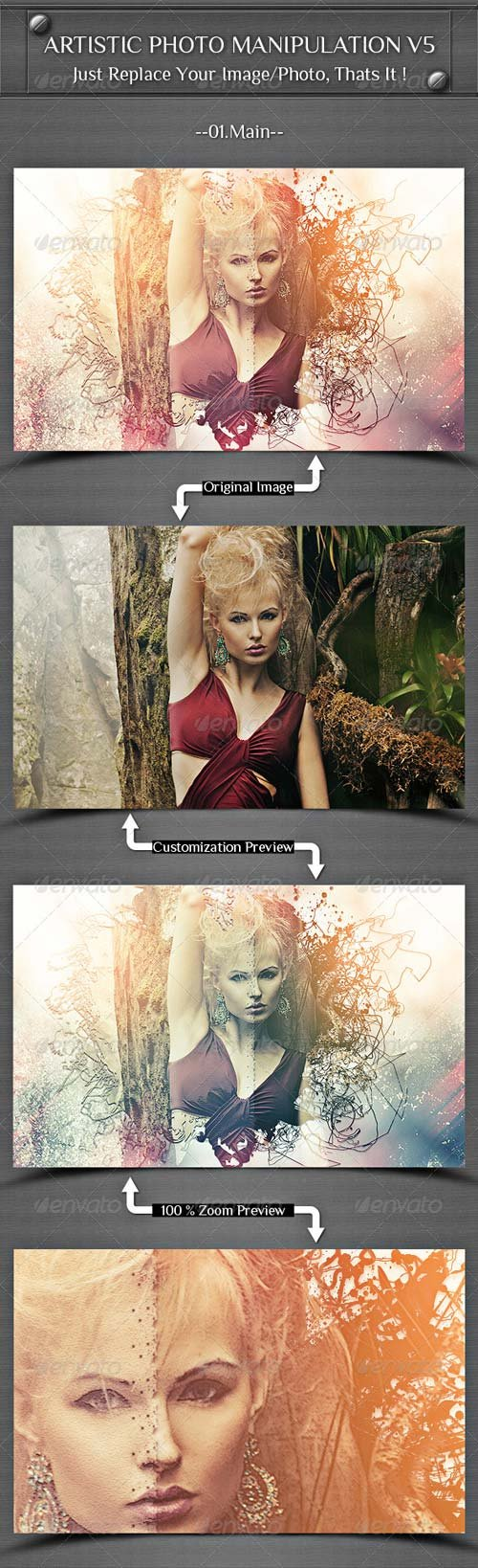 GraphicRiver Artistic Photo Manipulation V5