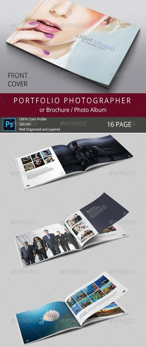 GraphicRiver 16 Pages Photography Portfolio or Photo Album