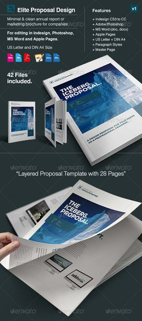 GraphicRiver Elite Proposal in A4 and US Letter