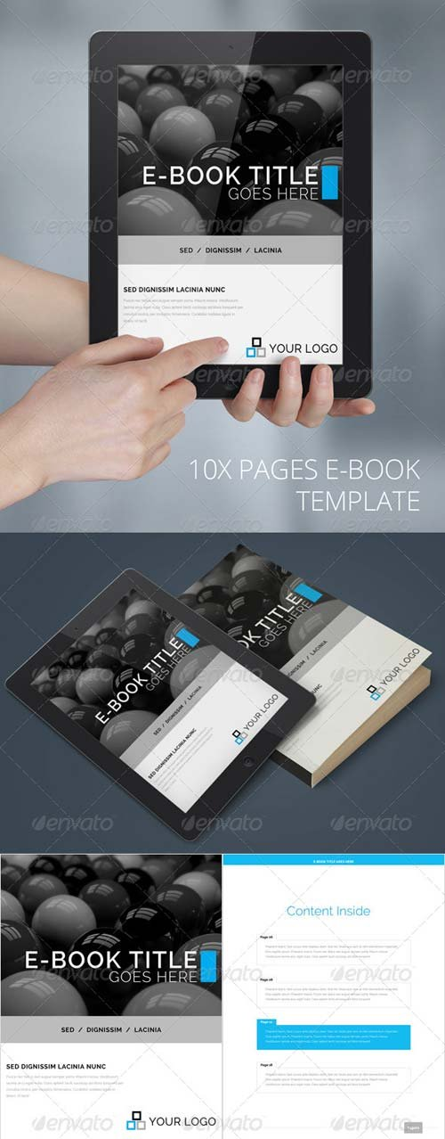GraphicRiver E-Book Template