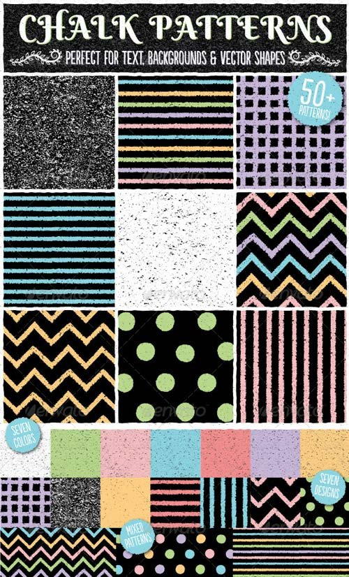 GraphicRiver Chalk Patterns