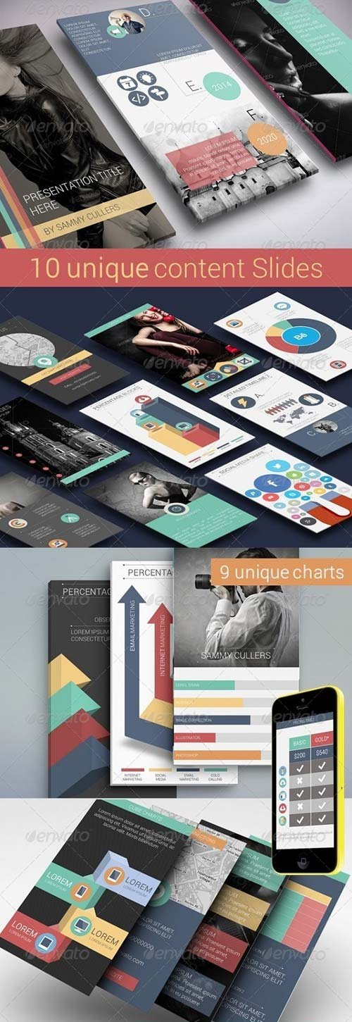 GraphicRiver Flat Smart Device Presentation Template