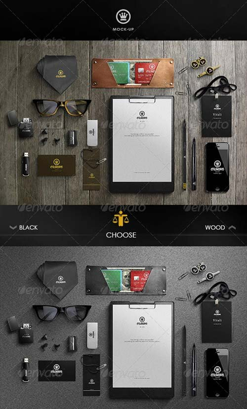 GraphicRiver Branding / Business Mock-Up
